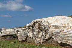 Ruïnes van de oude advertentie Cragum van stadsantiochia royalty-vrije stock foto's