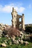 Ruïnes van de oude Basiliek van Heilige Simeon, Syrië Stock Afbeeldingen