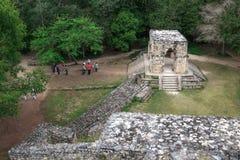Ruïnes van de oude Mayan stad van Ek Balam Royalty-vrije Stock Afbeeldingen