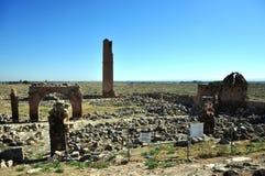 Ruïnes van de oude stad van Harran dichtbij Sanliurfa royalty-vrije stock foto