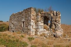 Ruïnes van de oude stad van Miletus Royalty-vrije Stock Foto