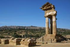 Ruïnes van de oude tempel Royalty-vrije Stock Fotografie