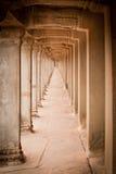 Ruïnes van de tempels, Angkor, Kambodja Stock Afbeeldingen