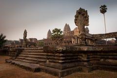 Ruïnes van de tempels, Angkor, Kambodja Royalty-vrije Stock Foto's