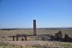 Ruïnes van de wereld` s eerste universiteit stock foto's