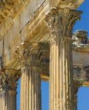 Ruïnes van Dougga Stock Afbeelding