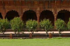 Ruïnes van een oude Indische tempel Royalty-vrije Stock Foto's