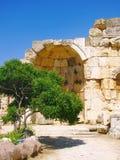 Ruïnes van een oude tempel Royalty-vrije Stock Afbeelding