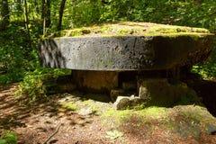 Ruïnes van elektrische centrale van Wereldoorlog II Stock Afbeelding