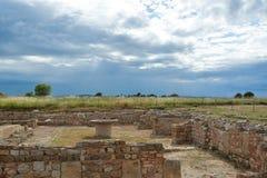 Ruïnes van Empuries stock afbeeldingen