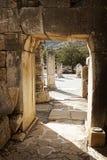 Ruïnes van Ephesus Royalty-vrije Stock Foto