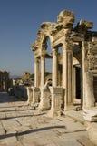 Ruïnes van Ephesus, Turkije Royalty-vrije Stock Afbeeldingen