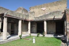 Ruïnes van Herculaneum Stock Afbeelding