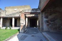 Ruïnes van Herculaneum Stock Afbeeldingen