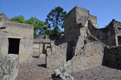 Ruïnes van Herculaneum Stock Foto's