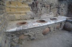 Ruïnes van Herculaneum Royalty-vrije Stock Fotografie