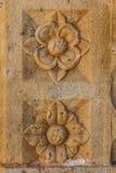 Ruïnes van het Cuilapan DE Guerrero klooster, Oaxaca royalty-vrije stock afbeelding