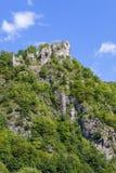 13 ruïnes van het eeuwkasteel Stock Foto
