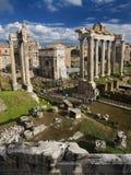 Ruïnes van het Forum Stock Afbeelding