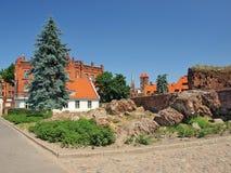 Ruïnes van het kasteel Royalty-vrije Stock Fotografie