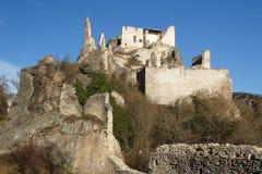 Ruïnes van het kasteel royalty-vrije stock afbeeldingen