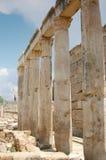 Ruïnes van Hierapolis Stock Fotografie