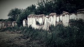 Ruïnes van huis Royalty-vrije Stock Foto