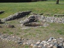 Ruïnes van Industria in Monteu DA Po Royalty-vrije Stock Afbeelding