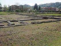 Ruïnes van Industria in Monteu DA Po Royalty-vrije Stock Fotografie