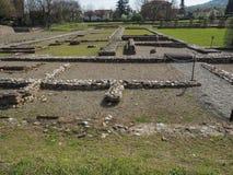 Ruïnes van Industria in Monteu DA Po Stock Foto's