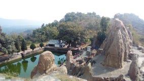 Ruïnes van kangra h van pandva P India royalty-vrije stock afbeelding