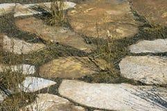 Ruïnes van Kanyaka-Post, Flinders-Waaiers, Zuid-Australië royalty-vrije stock fotografie