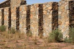 Ruïnes van Kanyaka-Post, Flinders-Waaiers, Zuid-Australië royalty-vrije stock afbeeldingen