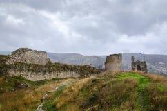 Ruïnes van kasteel Stock Foto