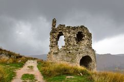 Ruïnes van kasteel Royalty-vrije Stock Fotografie