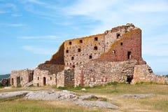 Ruïnes van kasteel Stock Afbeelding