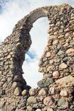 Ruïnes van kasteel Stock Afbeeldingen