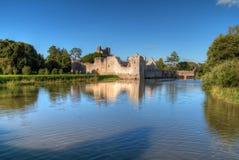 Ruïnes van kasteel in Adare Royalty-vrije Stock Afbeelding
