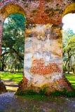 Ruïnes van kerk Royalty-vrije Stock Afbeelding