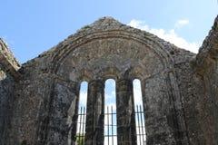 Ruïnes van Kilfenora-Kathedraalprovincie Clare Ireland Stock Afbeeldingen