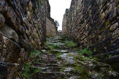 Ruïnes van Kuelap, de verloren stad van Chachapoyas, Peru stock foto's