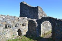 Ruïnes van Löwenburg Royalty-vrije Stock Foto's