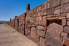 Ruïnes van La Paz van Tiwanaku Bolivië Royalty-vrije Stock Afbeeldingen