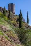 Ruïnes van Lastrous-kasteel Royalty-vrije Stock Afbeelding
