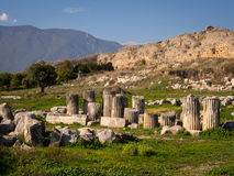 Ruïnes van Limyra, Turkije Stock Fotografie