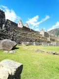 Ruïnes van Machu Picchu, Peru stock afbeelding