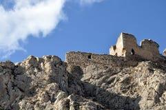 Ruïnes van middeleeuwse citadel Stock Afbeelding
