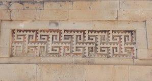 Ruïnes van Mitla in Oaxaca Mexico royalty-vrije stock foto