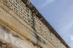 Ruïnes van Mitla in Oaxaca Mexico royalty-vrije stock afbeeldingen