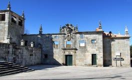 Ruïnes van oud klooster Stock Fotografie